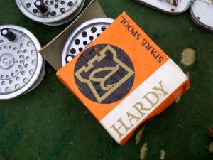 Hardy Marquis 7 Spool with Hardy Fast Sink Line found at Wimbledon Car Boot