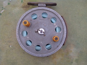 Speedia Centre Pin Reel found at Wimbledon Car Boot Sale at Plough Lane