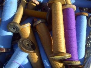Silk bobbins found at Kempton