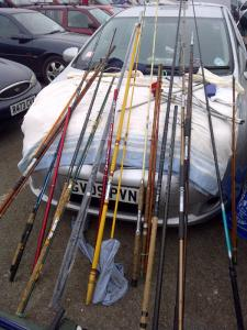 rods at the ready