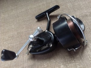 A Plough Lane find, a fine condition Mitchell 301 fixed spool reel