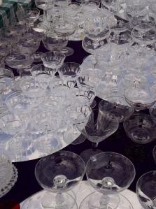 Cocktail Glasses found at Sunbury Antiques Market