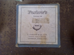 Farlow Cobra reel found at a car boot in Wimbledon