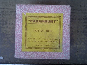 Paramount reel and box found at Plough Lane