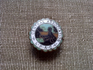 L.P.A.C enamel badge