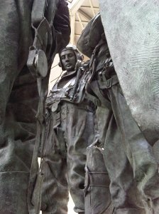 Bomber Command Memorial Sculpture by Phillip Jackson