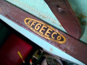 Efgeeco Seat Box