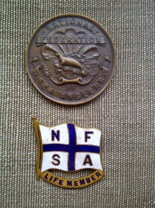 National Federation Of Sea Anglers Bronze Medallion 1951