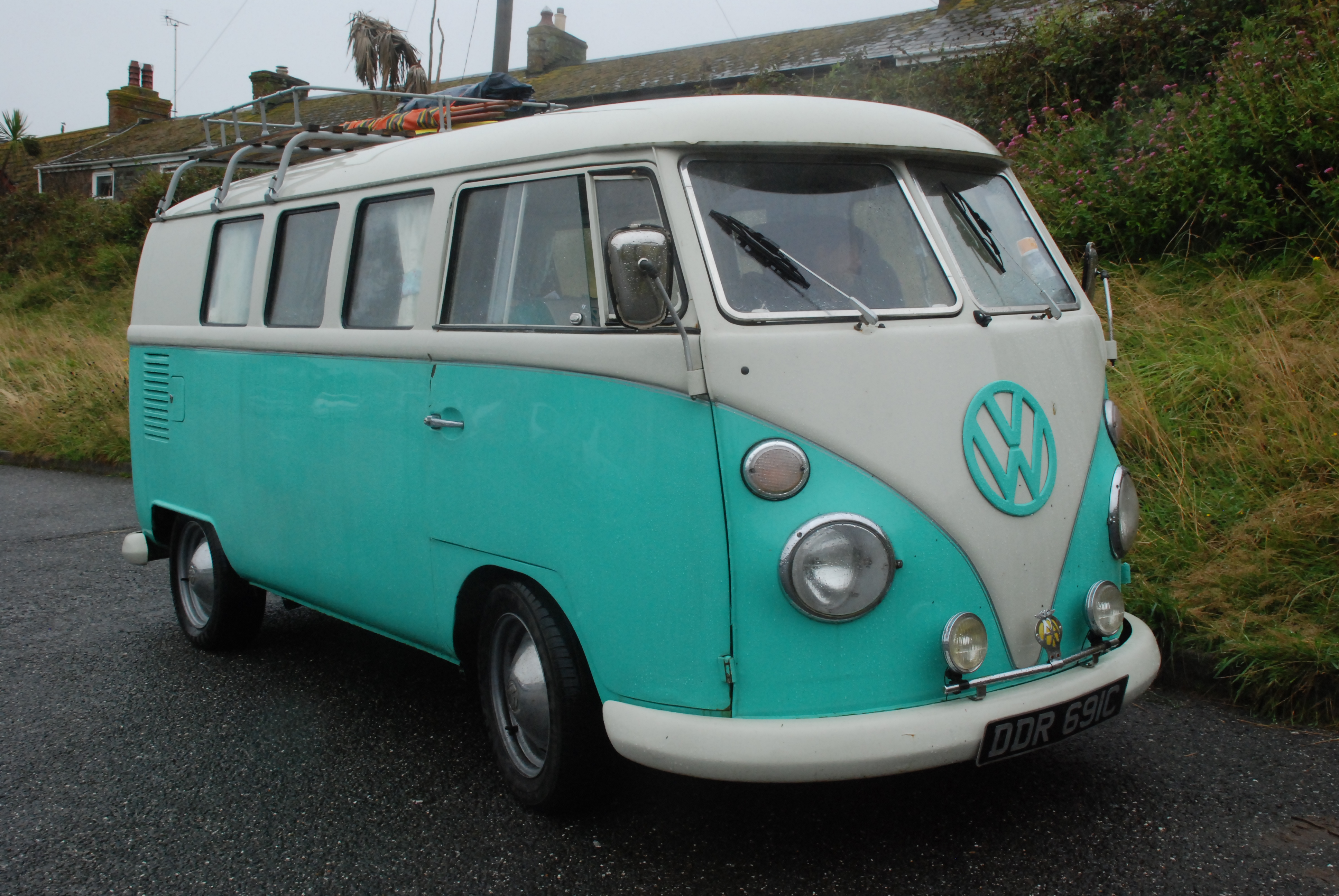 in a 65 vw campervan to cornwall bass fishing tales by the riverbank. Black Bedroom Furniture Sets. Home Design Ideas
