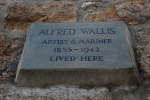 The home of Alfred Wallis in St Ives