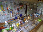 A shed full of tackle found in Cley