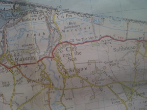 Sheet 133 Ordance Survey North East Norfolk