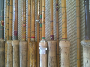 My collection of cane rods, well some of them