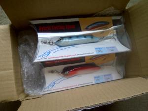 Box of Paul Adam's Hand-Made Lures