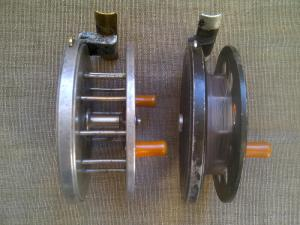 Early Speedia MKII Reels, Wide and Narrow Drum, Circa 1950-1960