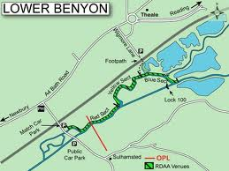 Map of the Lower Benyons