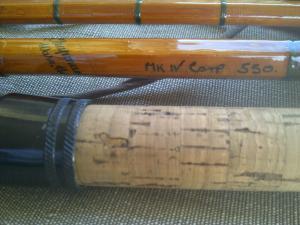 R Chapman of Ware 550 Carp rod