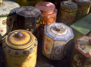 Vintage Storage Tins Found At Wimbledon Car Boot