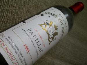 Chateau Grand-Puy-Ducasse Pauillac 1995