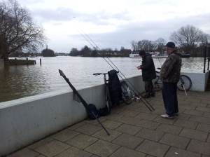 The Likely Lads, fishing for bream.