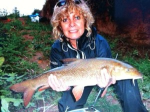 Angela and the barbel