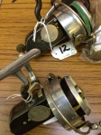 A pair of Hardy Altex reels