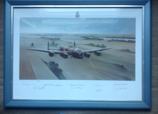 Dambuster Lancaster Limited Edition Signed Print