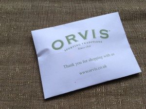Packet of dog biscuits from Orvis in Stockbridge