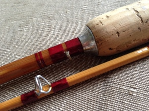 The restored Martinez & Bird Windrush fly rod
