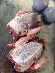 Brace of grouse from Winterbourne Game