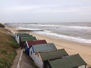 The shore at Southwold